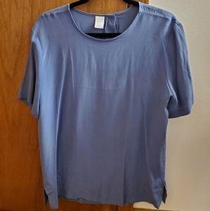 Lands End Women's Silk Blouse - Size 12